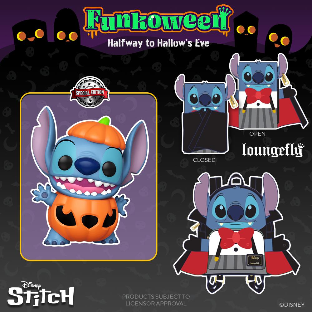 POP Stitch citrouille - Funkoween 2021