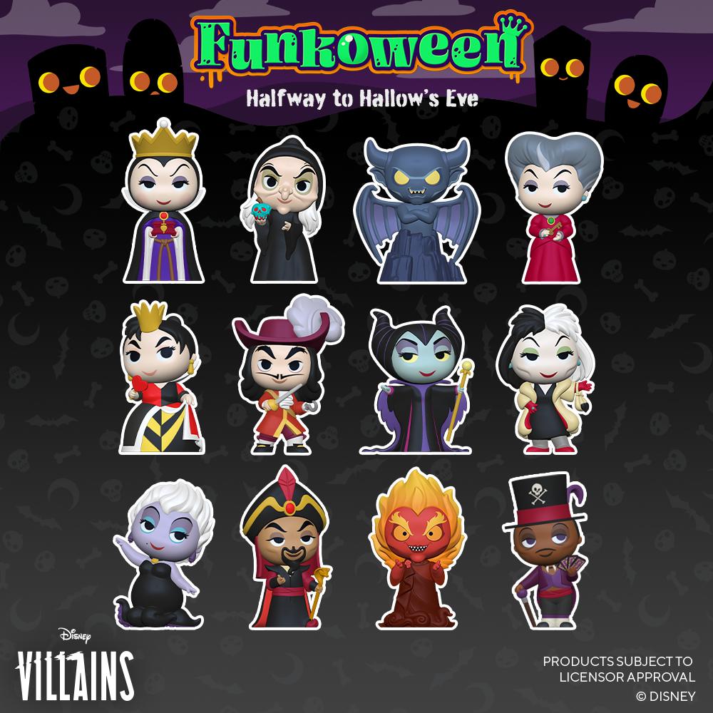 Mystery Villains - Funkoween 2021
