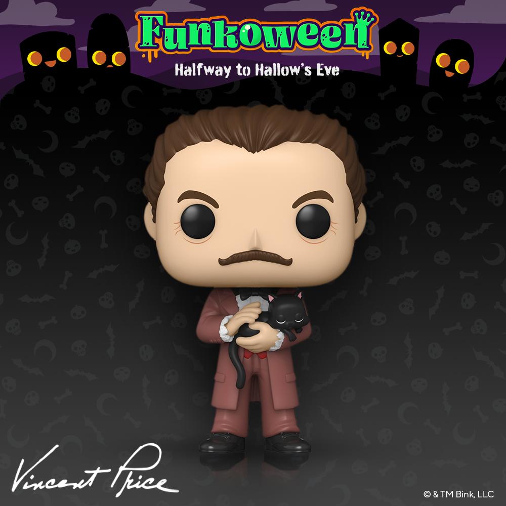 POP Vincent Price - Funkoween 2021