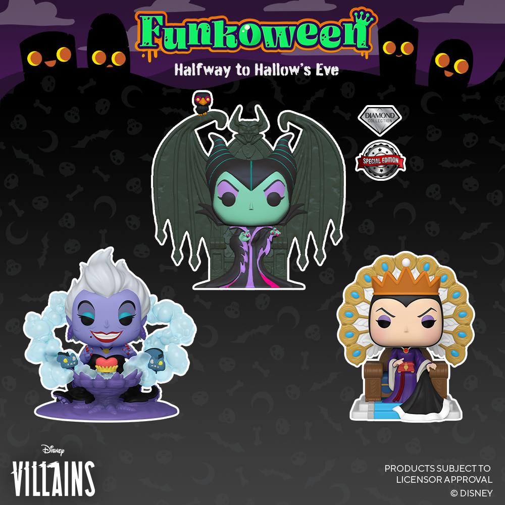 POP Villains thrones
