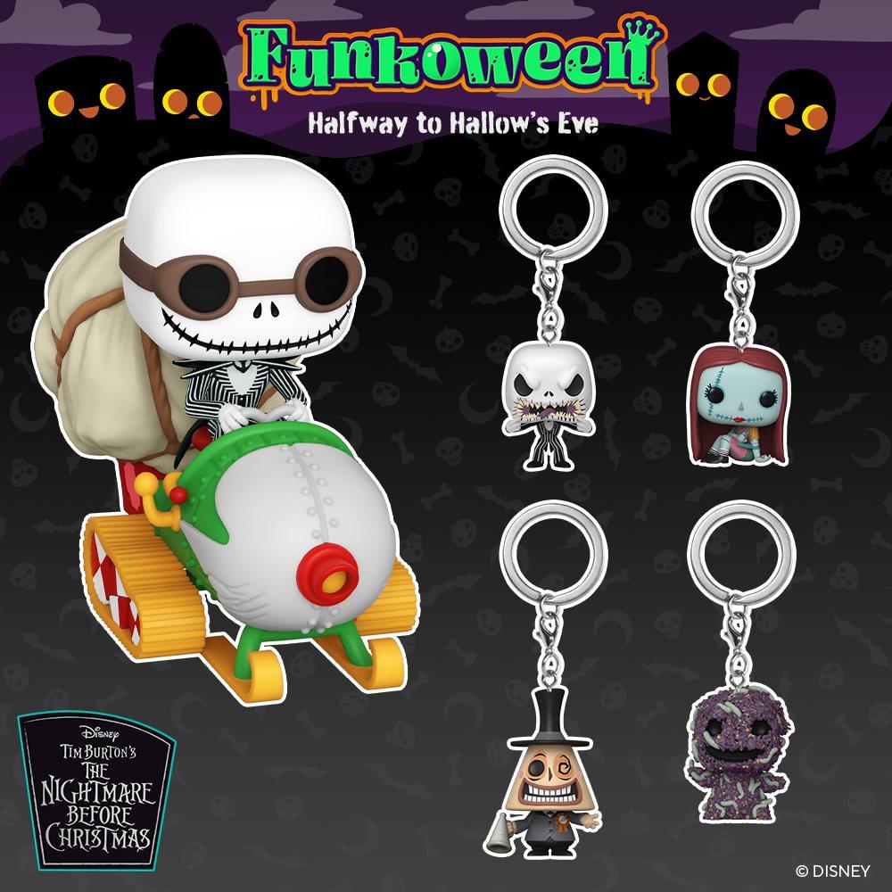 POP Keychain Mr Jack - Funkoween 2021