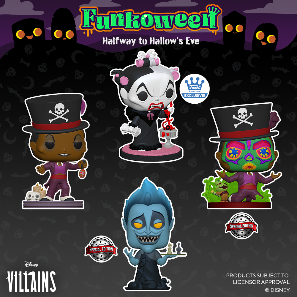 POP Villains - Funkoween 2021
