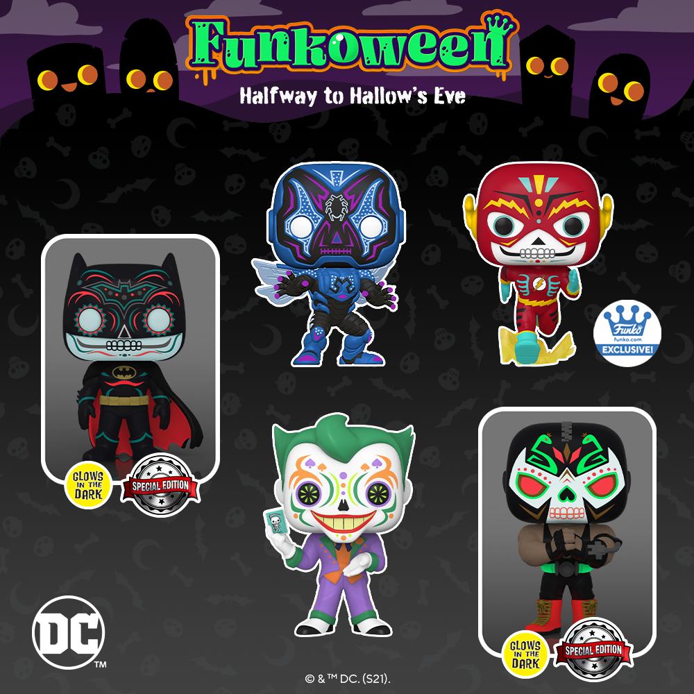 POP Heroes DC - Funkoween 2021