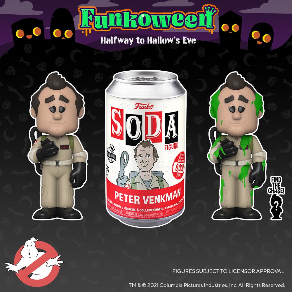 SODA Ghostbusters - Funkoween 2021