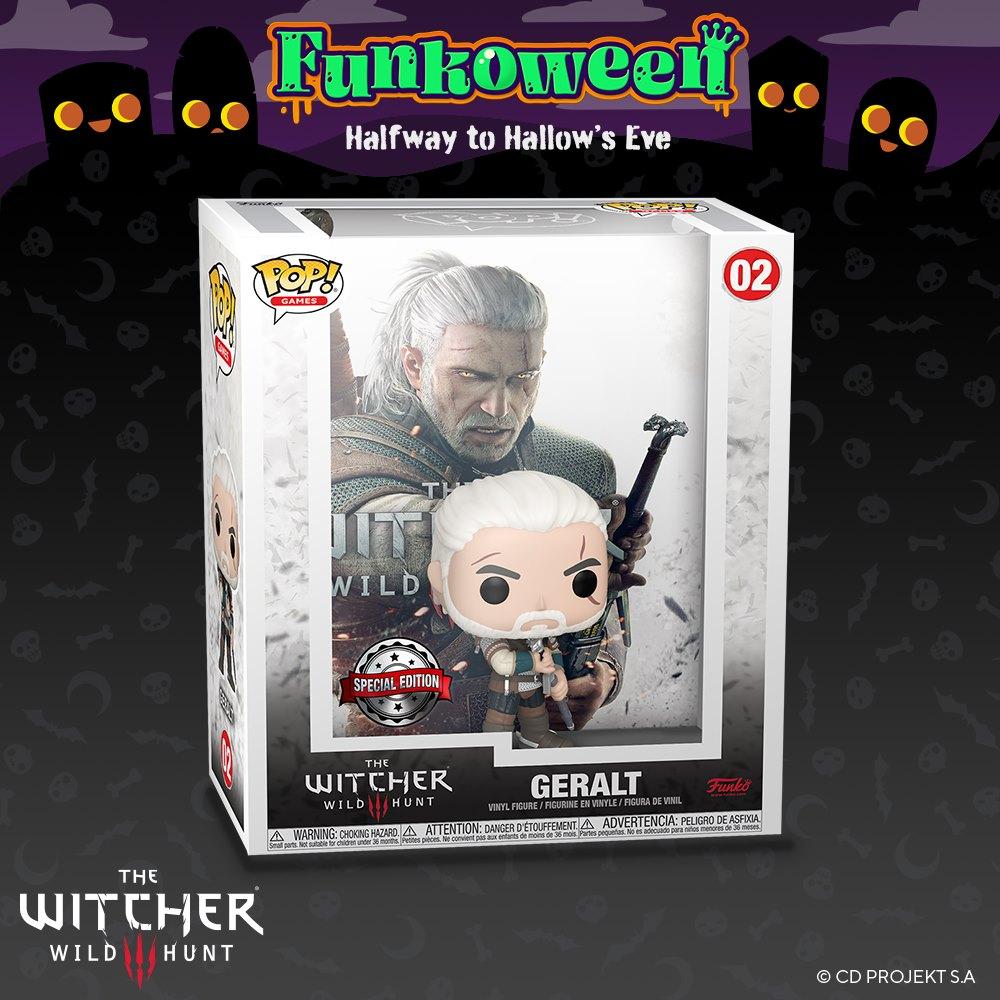 POP The Witcher Geralt - Funkoween 2021