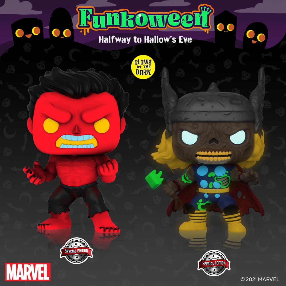 POP Hulk Thor - Funkoween 2021
