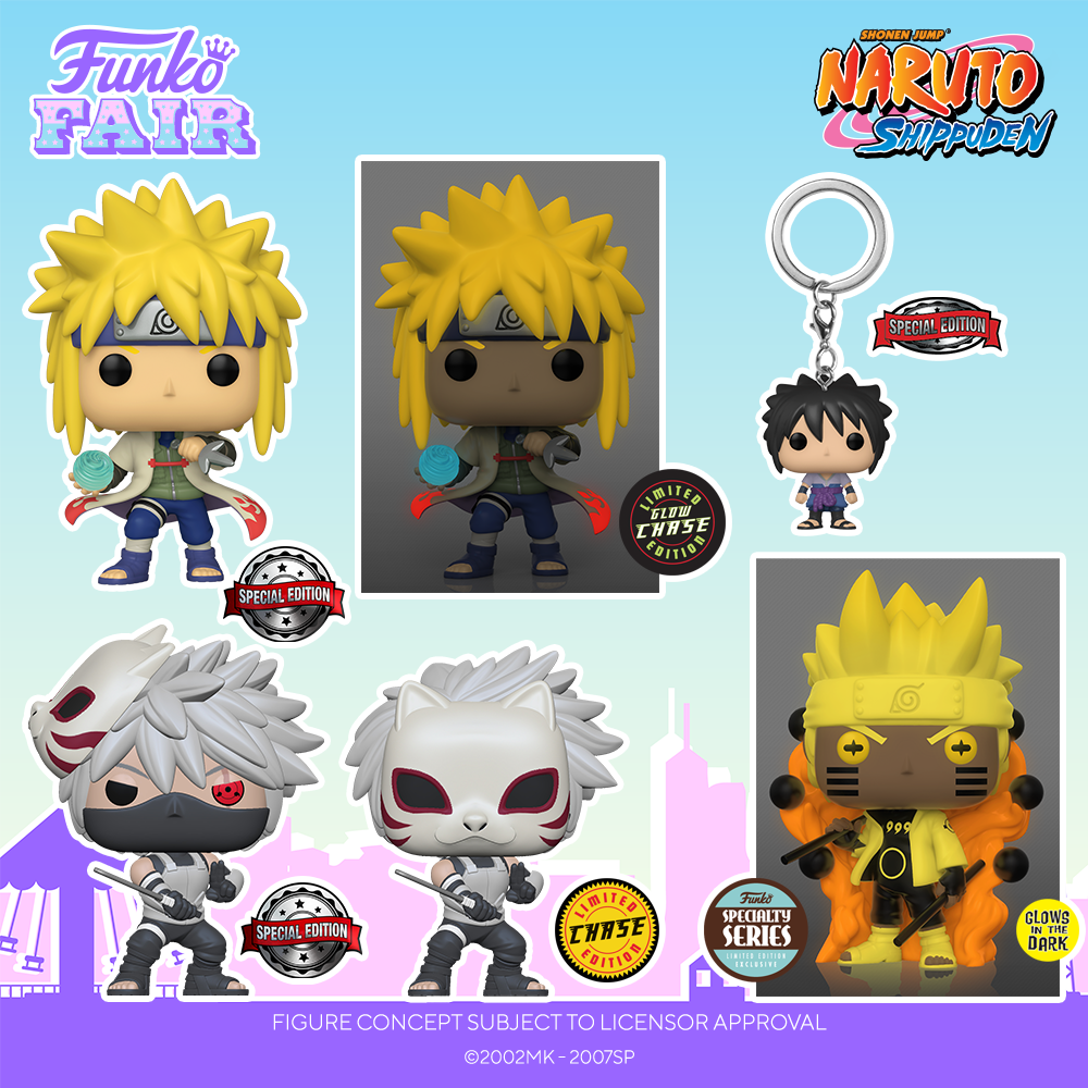 Funko Fair 2021 - POP Naruto Shippuden Special Edition