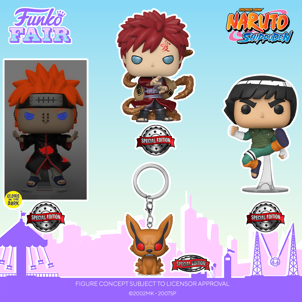 Funko Fair 2021 - POP Naruto Shippuden Exclu