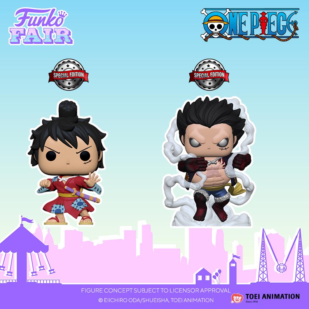 Funko Fair 2021 - POP One Piece (seconde partie)