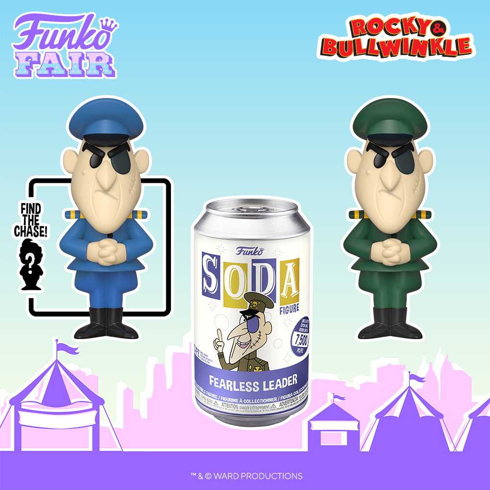 Funko Fair 2021 - SODA Fearless Leader