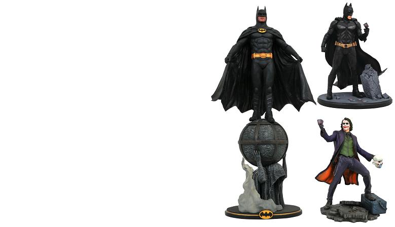 Réédition des DC Gallery Batman