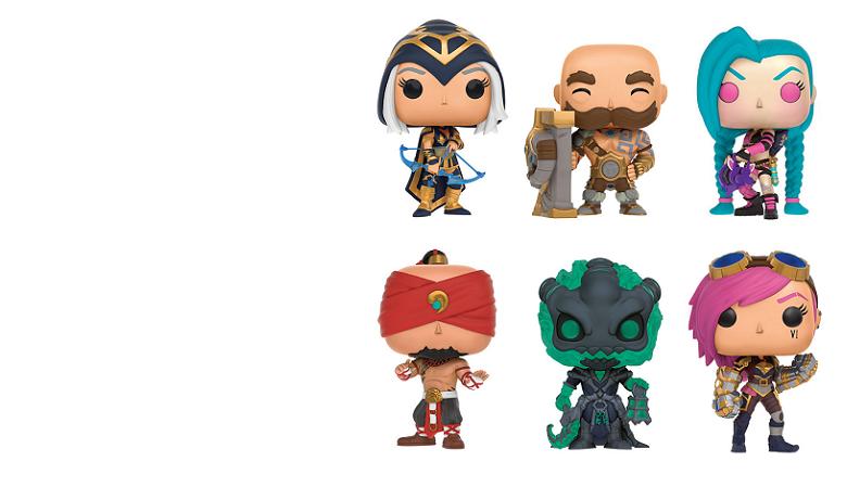 Figurine POP League of Legends
