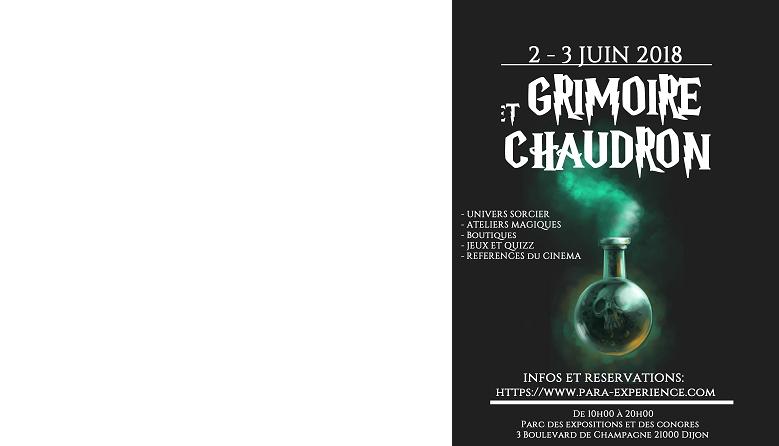 Grimoire & Chaudron