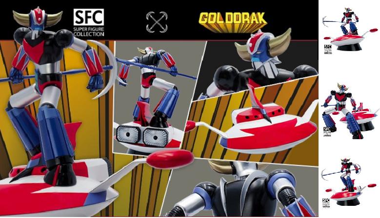 Précommandez la figurine de Goldorak par ABYstyle